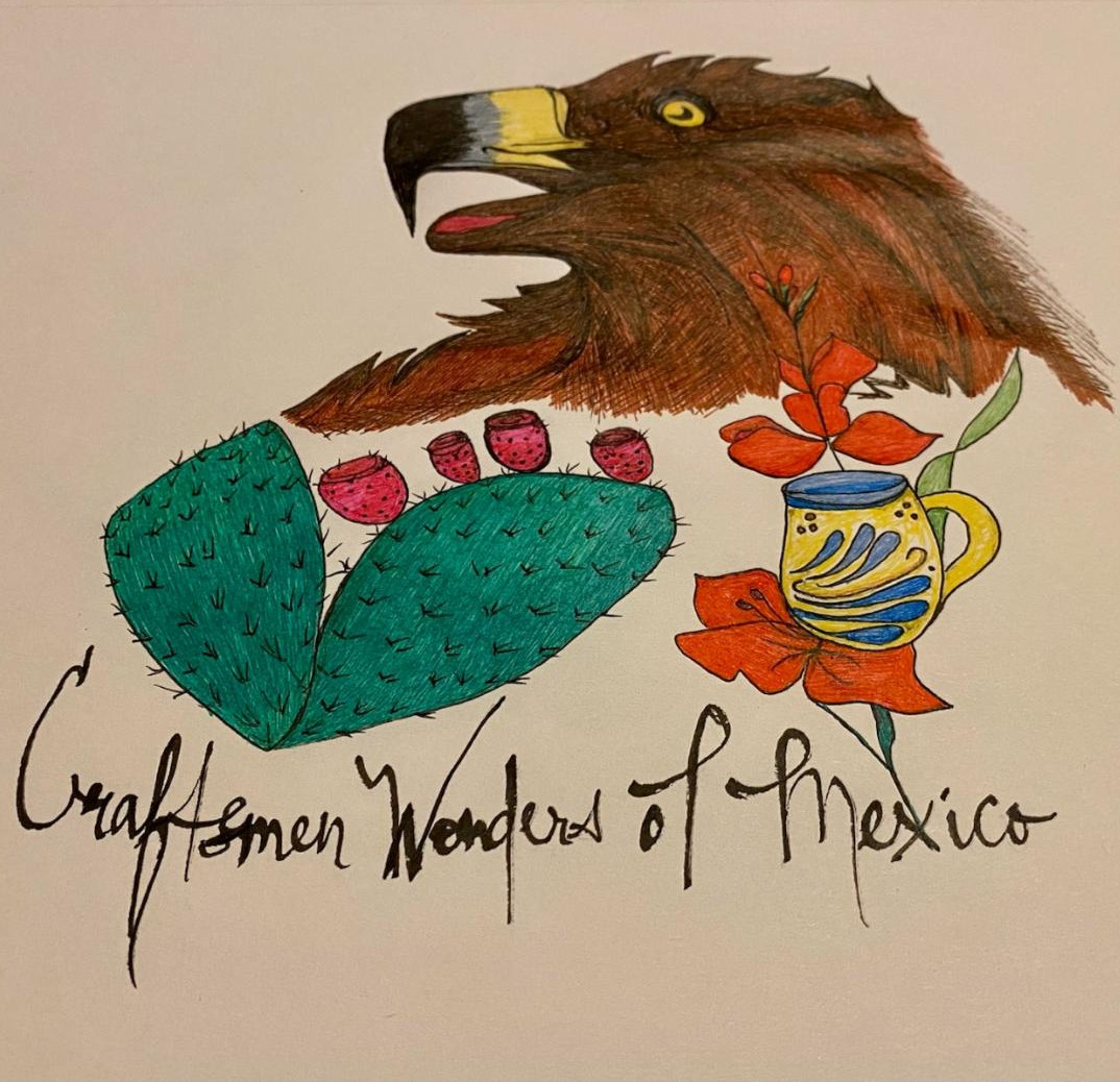 Showcasing custom crafts created in Mexico